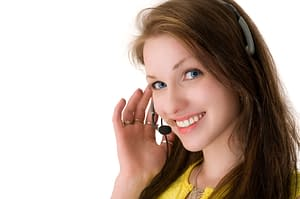 Helpful phone operators are here to field your calls.